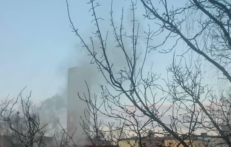 Smog w Oleśnie