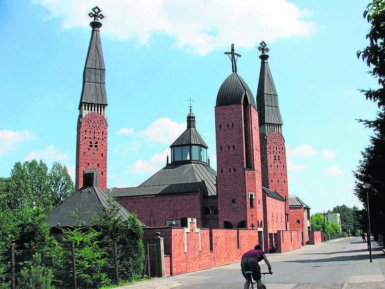 Kościół Jezusa Chrystusa Odkupiciela w Czechowicach-Dziedzicach, zaprojektowany w 1995 roku