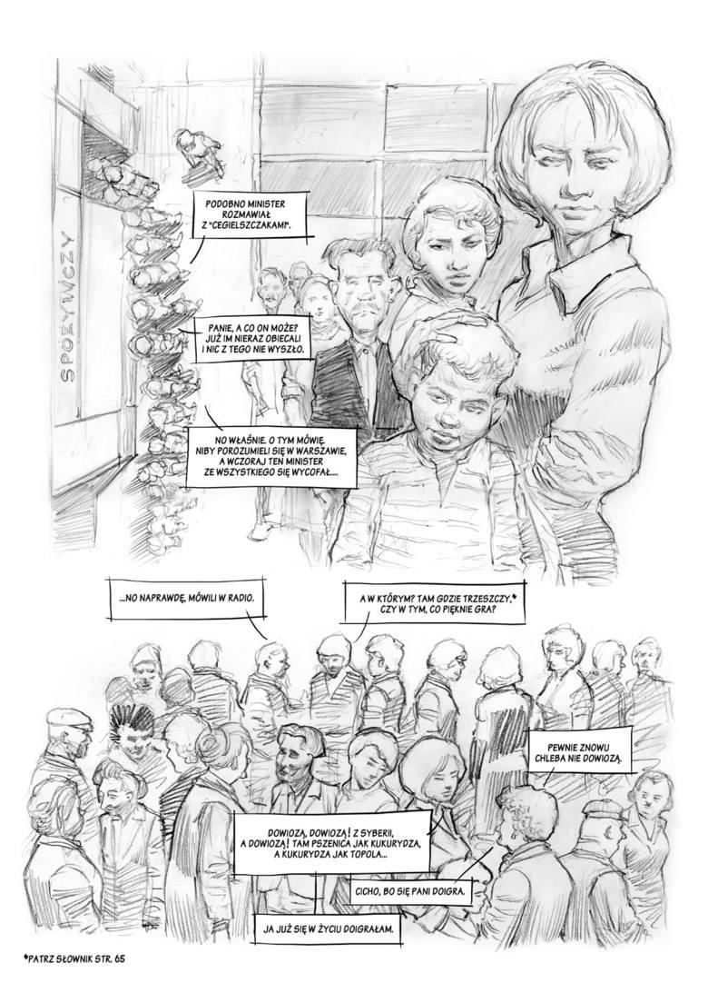 Czerwiec '56 na wielkim ekranie i kartach komiksu