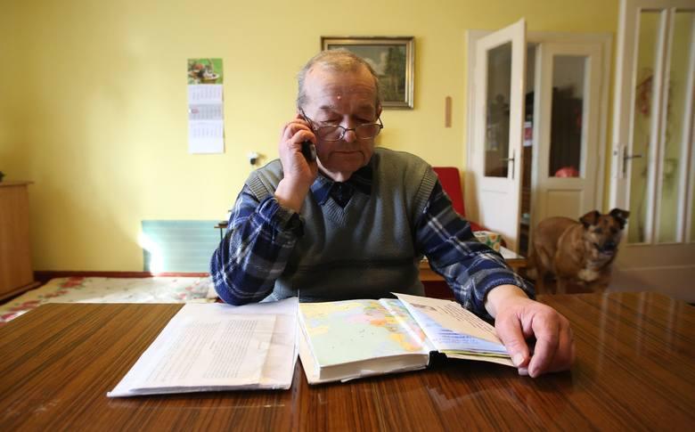 Włodzimierz Szadkowski, mieszkaniec Bałut, od jesieni zeszłego roku próbuje spotkać się z wiceprezydentem Tomaszem Trelą