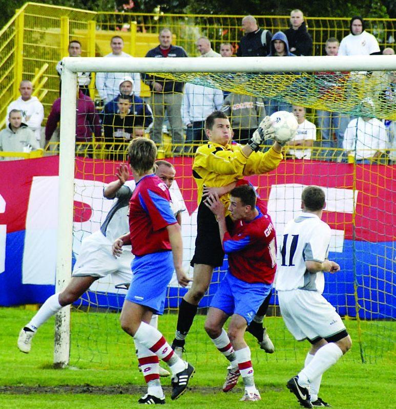 Marcin Rusakiewicz zaliczył debiut w bramce Gryfa 95 w IV lidze. Nie jestem jednak zadowolony - mówił po spotkaniu.