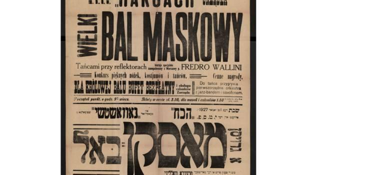 Plakat z 1927 r.