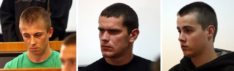 Oskarżeni: Damian Swatek, Kamil Motyka, Kamil Wolan