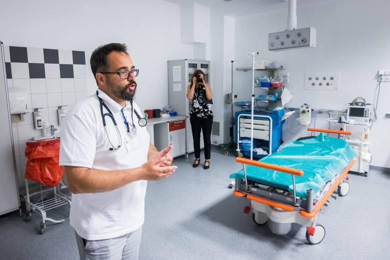 85 nowych urządzeń za  ponad 3 mln zł - Szpitalny Oddział Ratunkowy w bydgoskim szpitalu Biziela czekają duże zakupy. Nowy sprzęt trafi tam pod koniec
