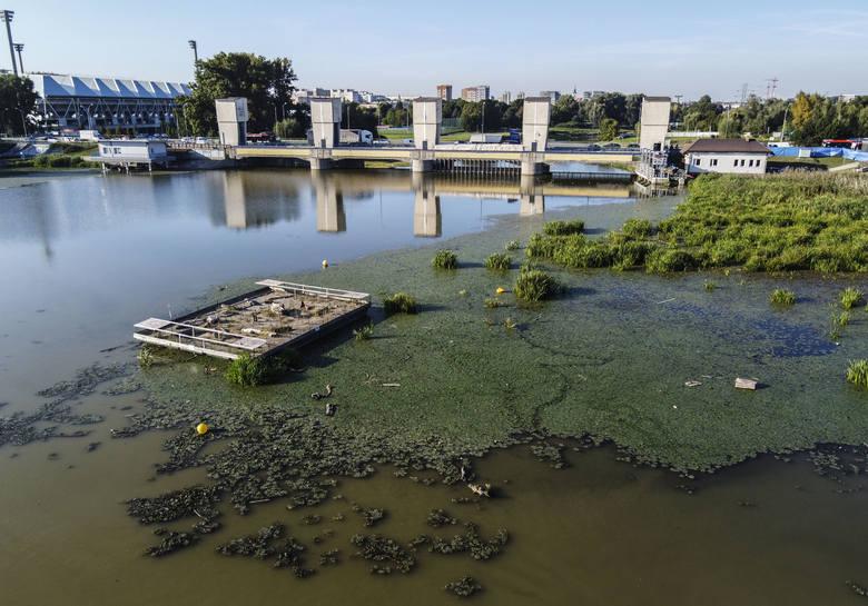 Odmulanie zalewu w Rzeszowie