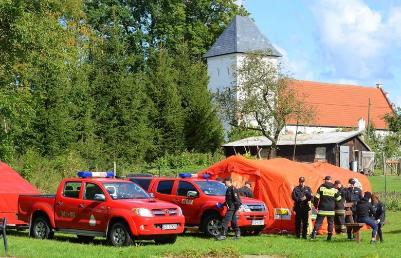 Dziś (19 września) w Zębowie w gminie Kobylnica przeprowadzono Powiatowe Ćwiczenia Obronne. Chodziło o sprawdzenie współdziałania władz samorządowych