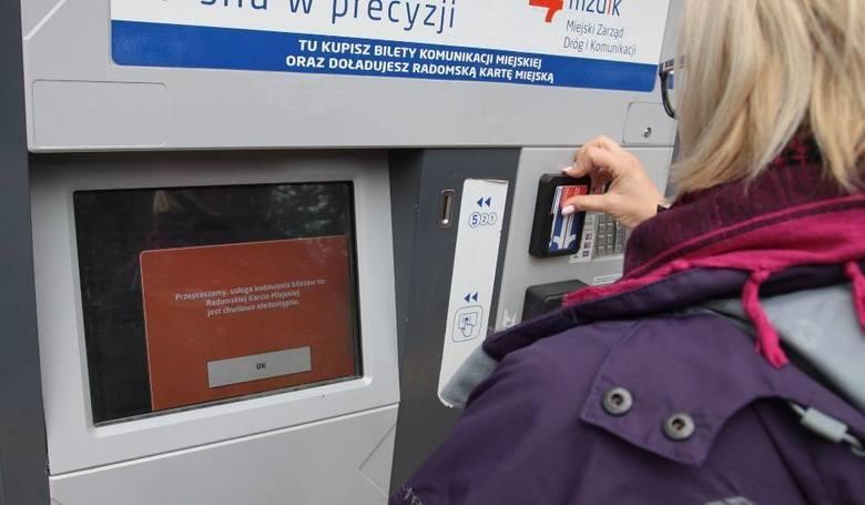 Od 1 kwietnia zablokowana została możliwość doładowania karty miejskiej czy też odczytania przez biletomat wspomnianej karty.