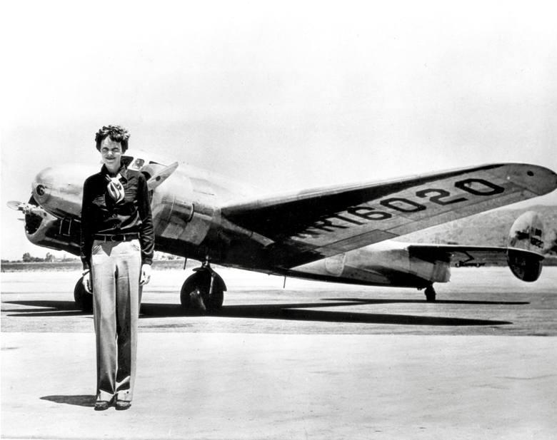 Amelia Earhart okoł 1928 r.