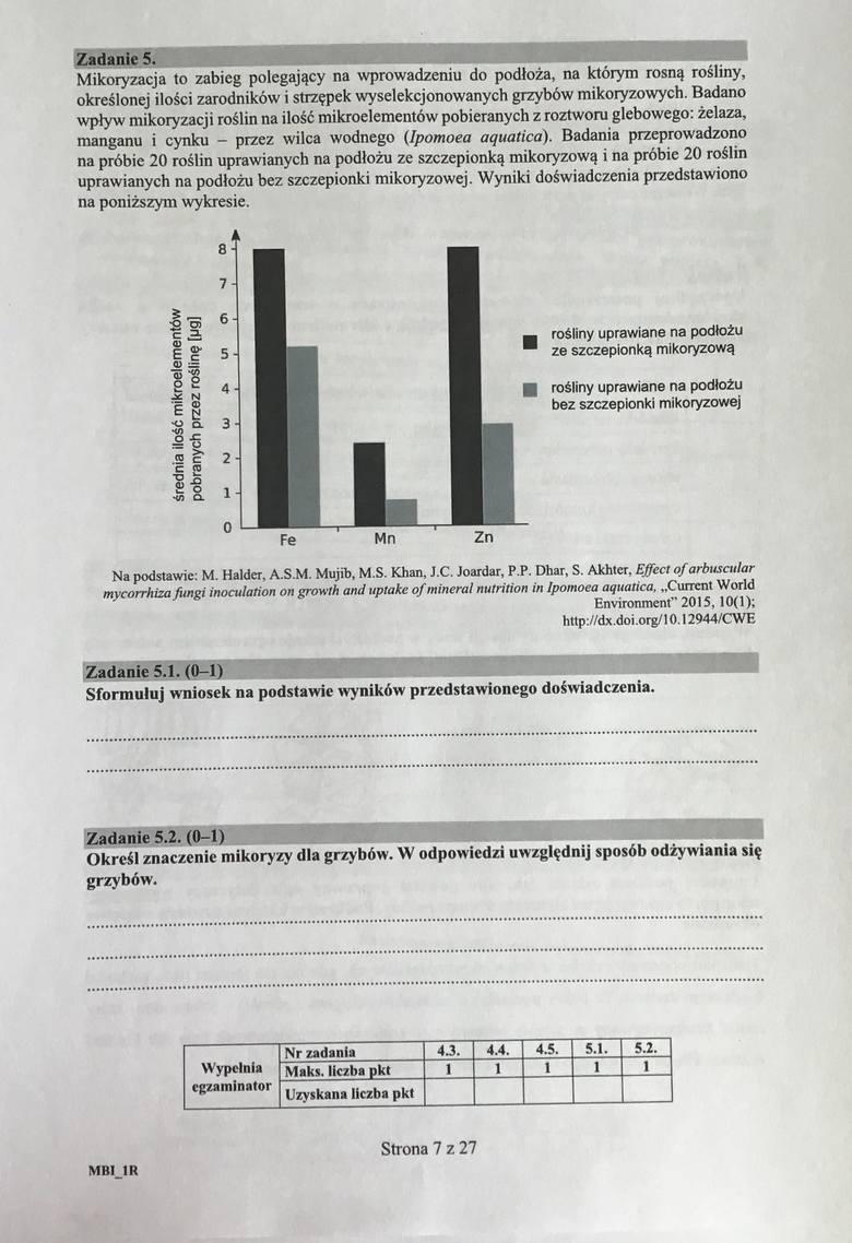 Matura 2018 biologia ROZSZERZENIE - ODPOWIEDZI I ARKUSZE. Egzamin maturalny z biologii- rozwiązania zadań [ROZSZERZENIE 10.5.2018]