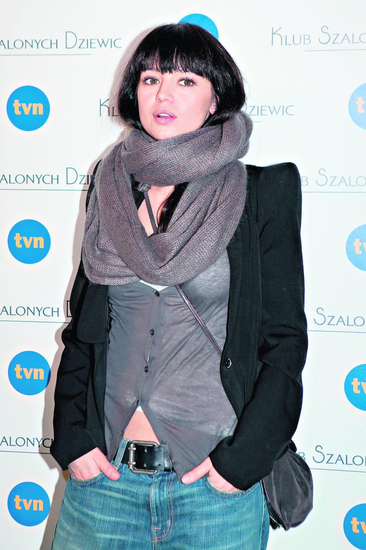 Anna Przybylska jest partnerką Jarosława Bieniuka.
