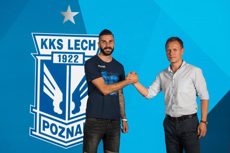 Mikael Ishak to nowy napastnik Lecha Poznań