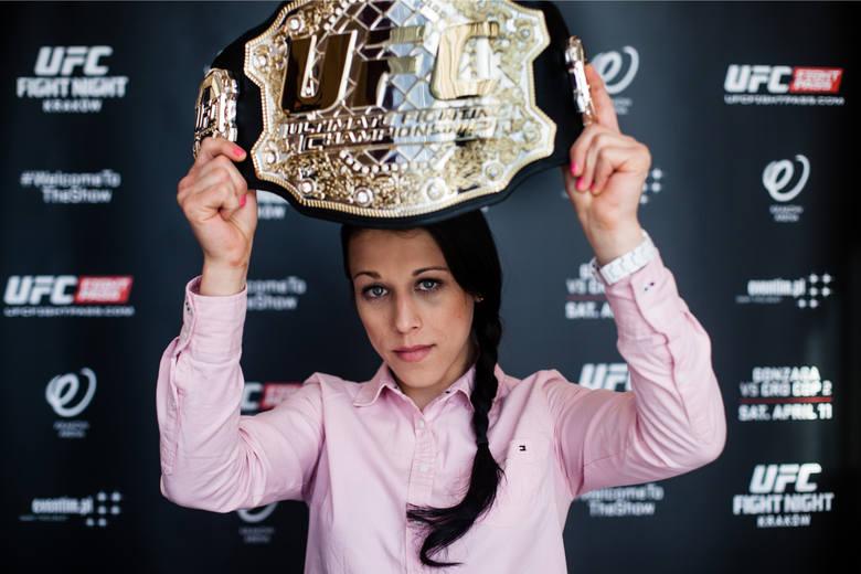 Joanna Jędrzejczyk postara się o odzyskanie mistrzowskiego pasa UFC w wadze piórkowej na gali w Nowym Jorku