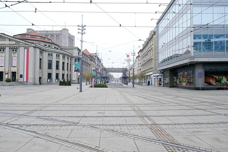 Pamiętacie tak wyludnione Katowice z ubiegłego roku?