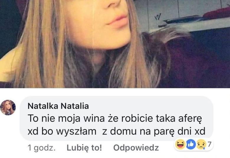 W sylwestra 2018/19 zaginęła nastolatka. 14-letniej Natalii szuka policja. Sprawą zajęły się już nawet ogólnopolskie media. Internauci ruszyli na pomoc