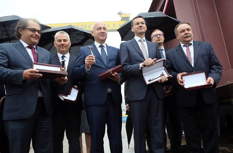 Położono stępkę pod budowę pierwszego promu w Stoczni Szczecińskiej