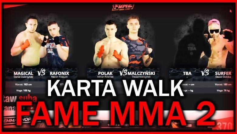 FAME MMA 2 ONLINE. Transmisja na żywo, stream w internecie [ONLINE STREAM PPV LIVE] 13.10.2018