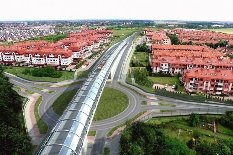 Podzielona na cztery etapy budowa wschodniej obwodnicy Wrocławia napotyka kolejne problemy. Wybudowany jest jeden odcinek, na drugi została dopiero podpisana