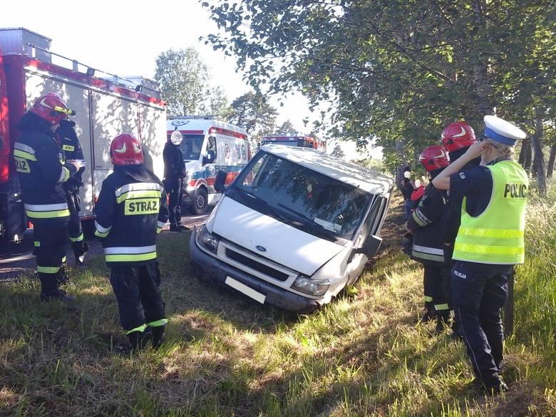 W poniedziałek tuż przed godz. 6.30 do dyżurnego Stanowiska Kierowania Komendanta Powiatowego PSP w Bielsku Podlaskim wpłynęło zgłoszenie o wypadku drogowym