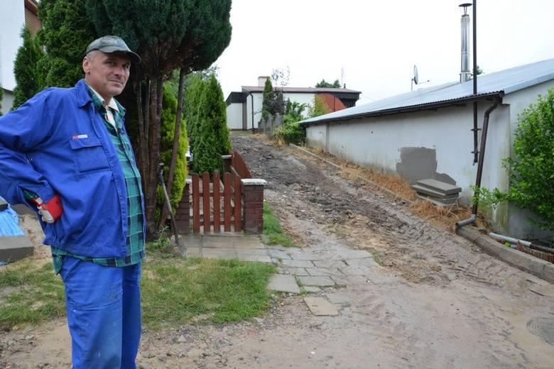 Żywioł dał się mocno we znaki m.in. mieszkańcom Osiecznej