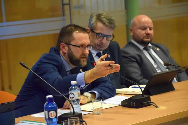 Sesja rady powiatu kluczborskiego