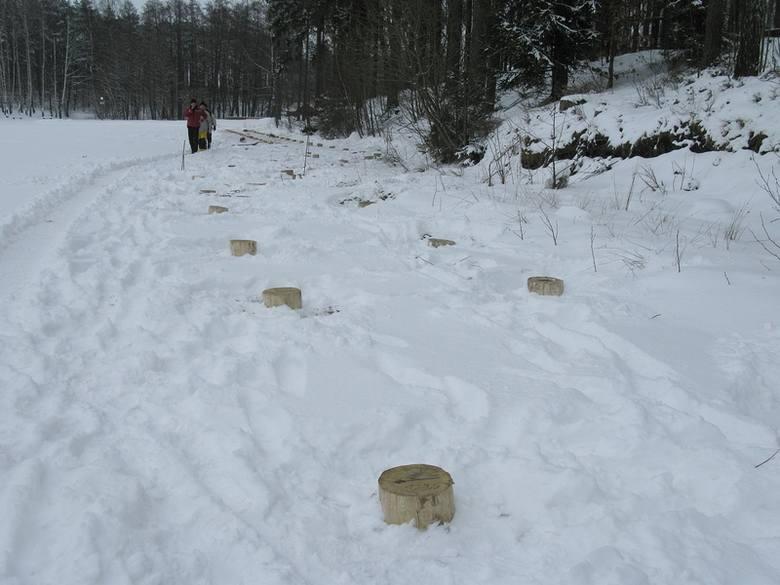 Budowa promenady nad jeziorem Jeleń w Bytowie