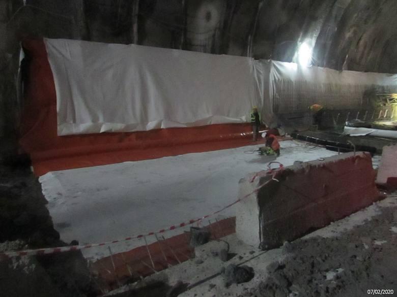 Budowa tunelu ekspresowej zakopianki