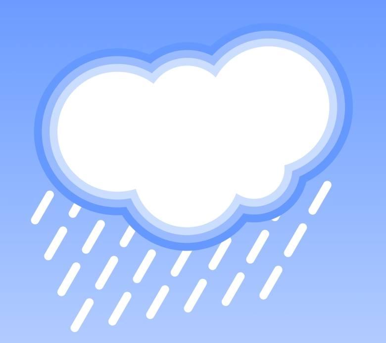 Pogoda w Bieszczadach (3 sierpnia 2011)