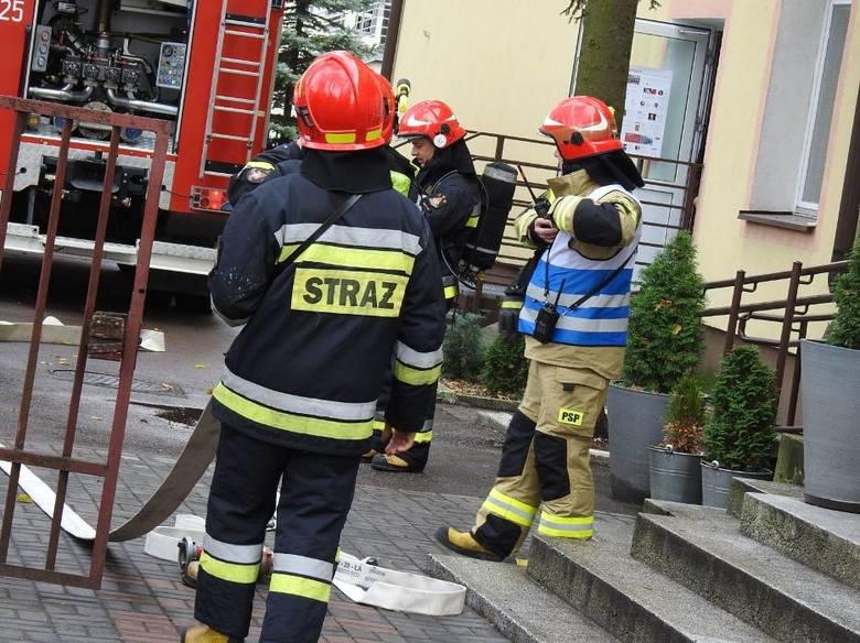 Alarm bombowy w Bielsku Podlaskim