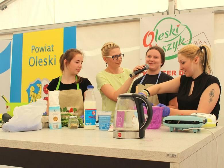 Tak było na pierwszym OK Food Festivalu w Oleśnie. W sobotę po raz drugi będzie można degustować regionalne specjały.