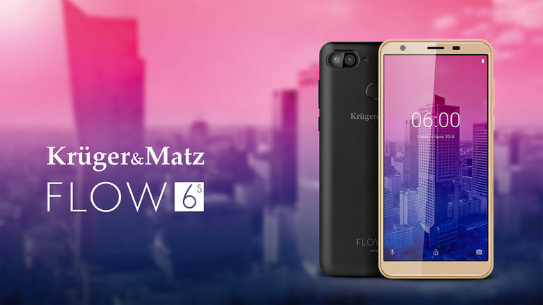 Smartfon do 500 zł 2019. KRUGER&MATZ FLOW 6S