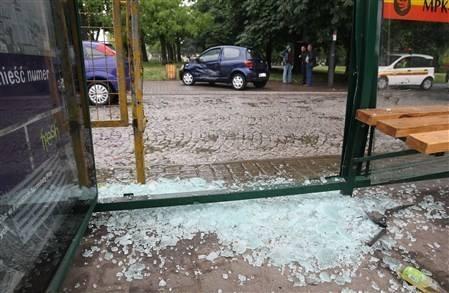 Wypadek na ulicy Nowomiejskiej