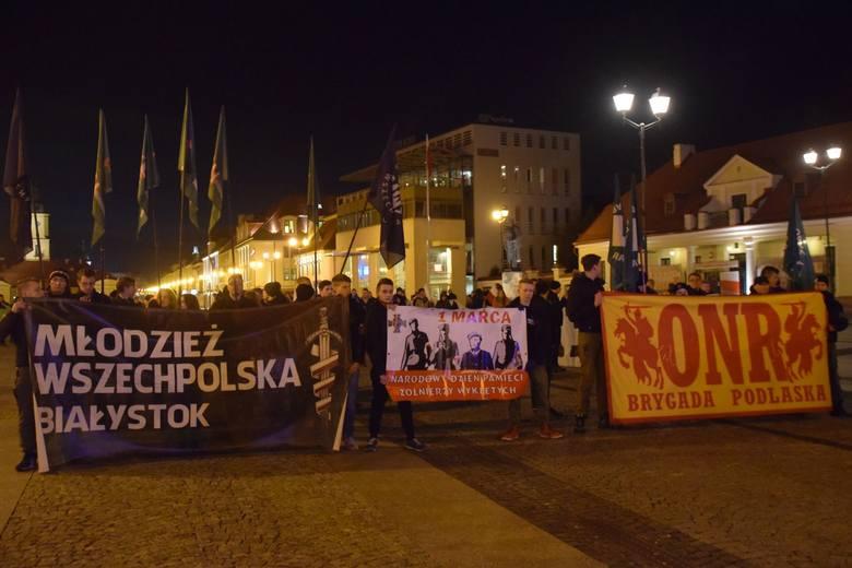 W marszu wzięło udział około stu osób.