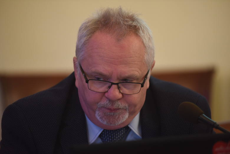 Radny Andrzej Brachmański