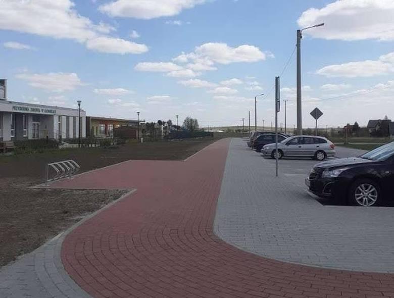 W Słomnikach nowymi ścieżkami można dojechać do parkingów przy przystankach szybkiej kolei i autobusów aglomeracyjnych