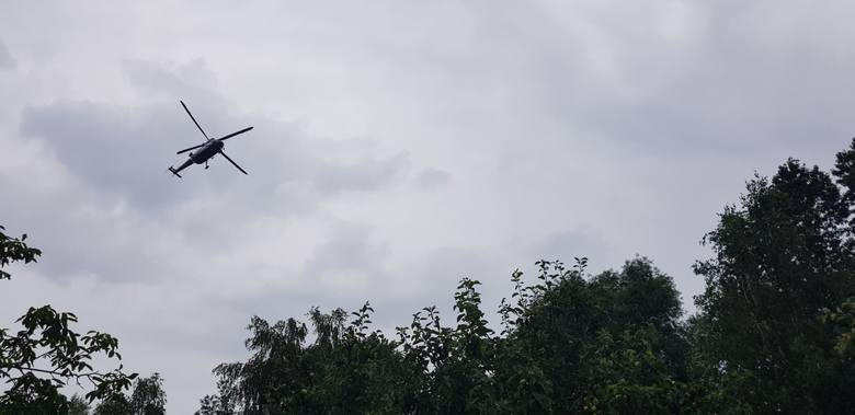 Obława w gminie Morawica i okolicach Kielc! Ludzie w strachu [WIDEO, ZDJĘCIA]