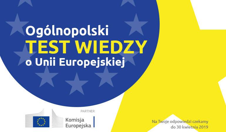 Ogólnopolski Test Wiedzy o Unii Europejskiej. Weź udział i wygraj czytnik e-booków