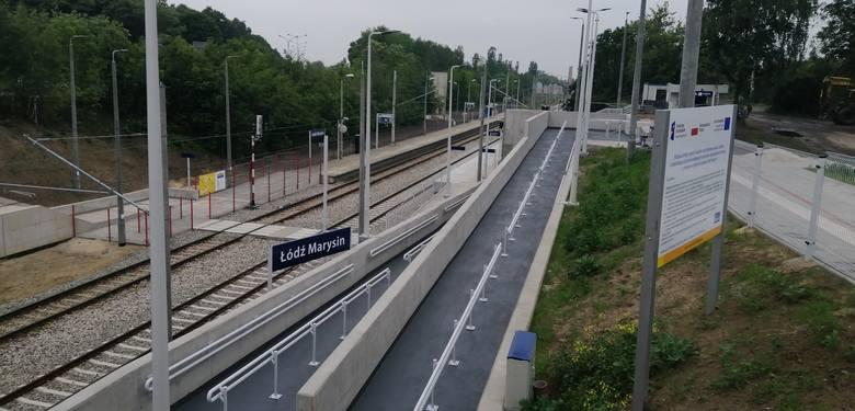 Przystanki kolejowe rosną w Łodzi jak grzyby po deszczu. Zdjęcia