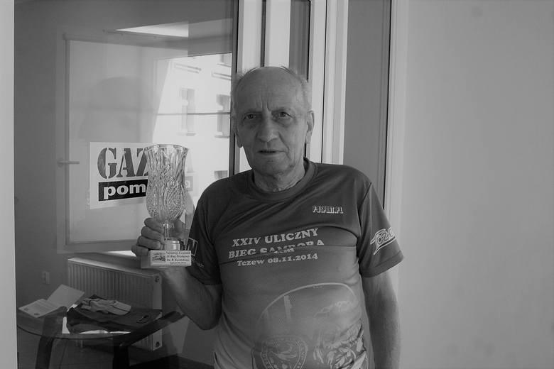"""O takich ludziach mówi się """"to żywa historia"""". Skończył 20 grudnia skończył 83 lata i ciągle biegał. Ostatnie zawody zaliczył jesienią."""