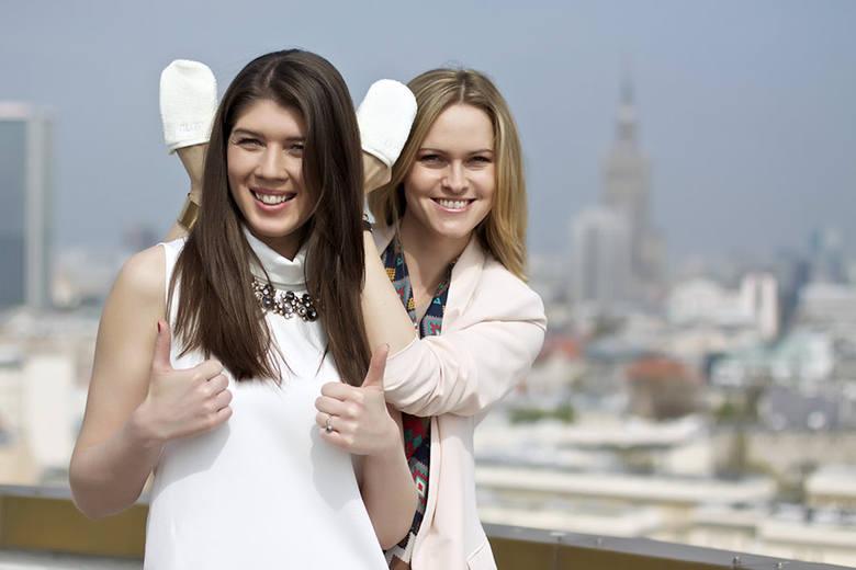 Monika Żochowska (z lewej) i Ewa Dudzic specjalną rękawicą do demakijażu podbiły rynek kosmetyczny w Polsce i na świecie