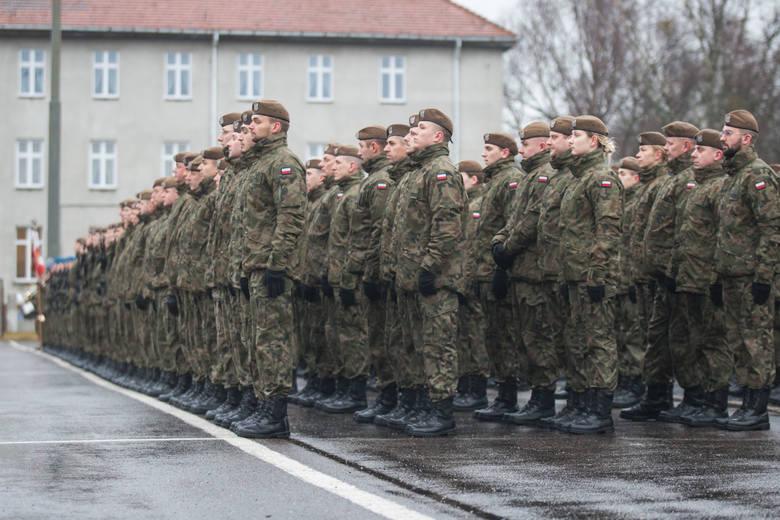 W niedzielę, 26 stycznia o godz. 10.00 na terenie 7 Brygady Obrony Wybrzeża w Słupsku odbyła się przysięga pomorskich Terytorialsów, którzy przed dwoma
