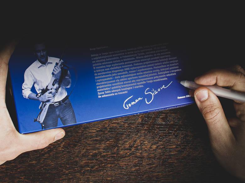 Skarpety od Tomasza Sikory. Na pamiątkę złotego medalu mistrzostw świata