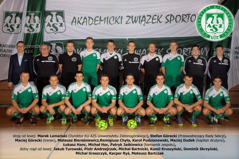Złota drużyna KU AZS Uniwersytetu Zielonogórskiego