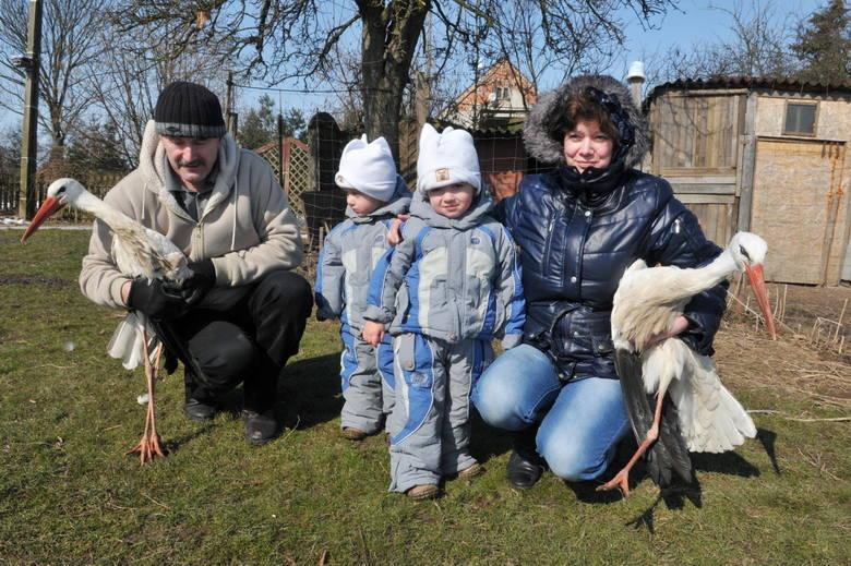Uratowany ptak powrócił do rodziny Jałtuszewskich