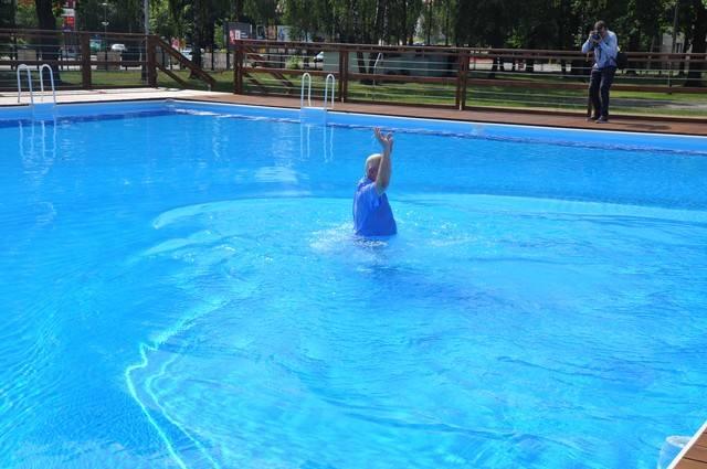 W Hajnówce oddano do użytku infrastrukturę wodną do rekreacji i wypoczynku. Chodzi o baseny na terenie Ośrodka Sportu i Rekreacji w Hajnówce oraz fontannę