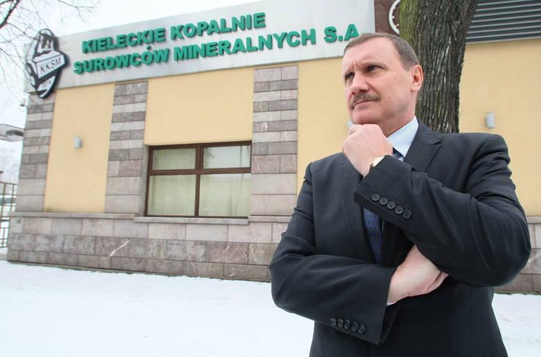 - Jestem w Kielcach po to, aby czarny scenariusz, czyli likwidacja Kopalni Surowców Mineralnych, się nie spełnił. Dopóki nie wyprowadzę firmy na prostą,