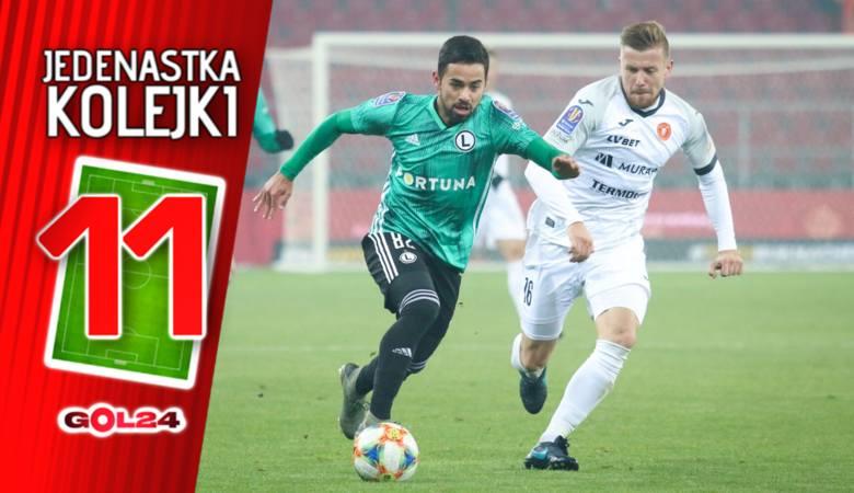 PKO Ekstraklasa. Po raz pierwszy w sezonie Legia Warszawa wskoczyła na fotel lidera. Stało się tak dzięki pokonaniu Arki Gdynia (1:0), remisom Pogoni