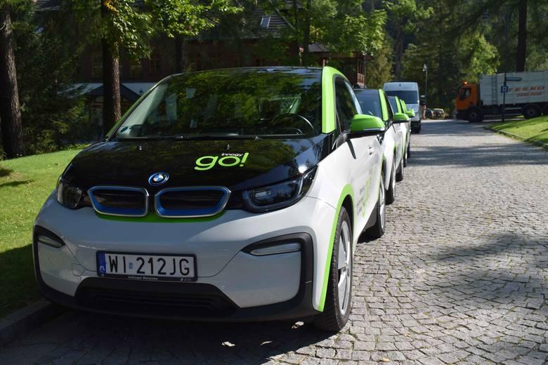 Zakopane. TPN uruchamia wypożyczalnię samochodów elektrycznych na minuty