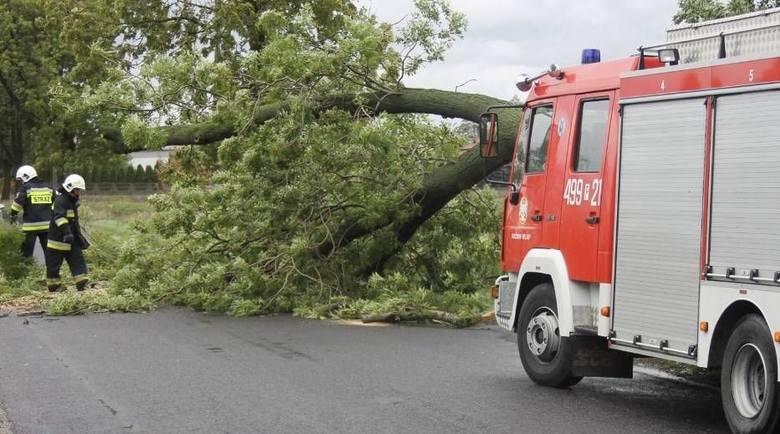 Interwencja strażaków w powiecie krotoszyńskim.Przejdź do kolejnego zdjęcia --->