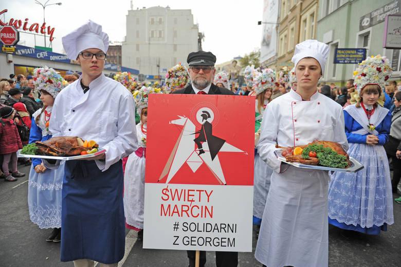 Korowód świętomarciński przeszedł przez Poznań