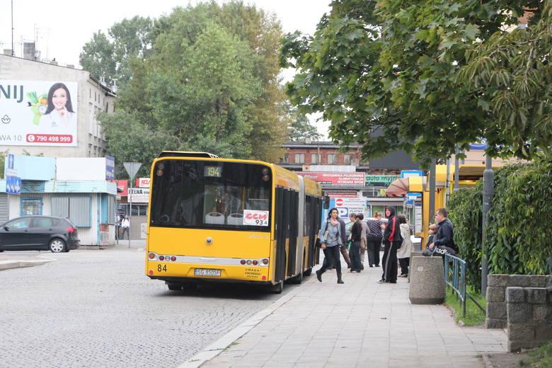 Dworzec autobusowy w Gliwicach